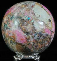 "Buy 2.25"" Polished Cobaltoan Calcite Sphere - Congo - #63904"
