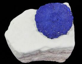 "Buy 1.2"" Brilliant Blue Azurite Sun On Rock - Australia - #64273"