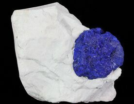 "1.5"" Brilliant Blue Azurite Sun On Rock - Australia For Sale, #64277"