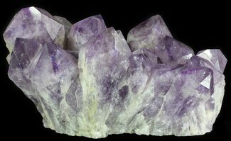 "15.5"" Amethyst Cluster (52 lbs) - Massive Points For Sale, #64760"