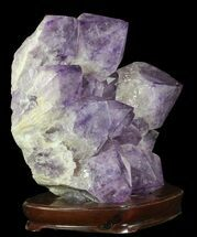 "Buy 14.9"" Amethyst Cluster (42 lbs) - Massive Points - #65149"