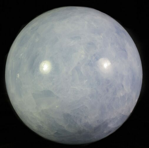 "5.4"" Polished Blue Calcite Sphere"
