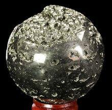 "Buy 2.35"" Polished Pyrite Sphere - Peru - #65110"