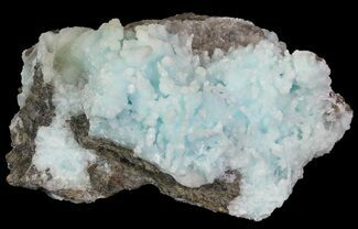 "3.7"" Sky-Blue, Stalactitic Aragonite Formation - China For Sale, #63914"