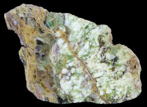 "6.7"" Polished Green-White Opal Slab - Western Australia For Sale, #65405"