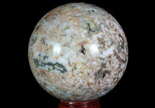 "2.6"" Unique Ocean Jasper Sphere - Madagascar For Sale, #67559"