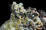 "3.0"" Garnet Cluster with Feldspar and Epidote- Pakistan - #38732-2"