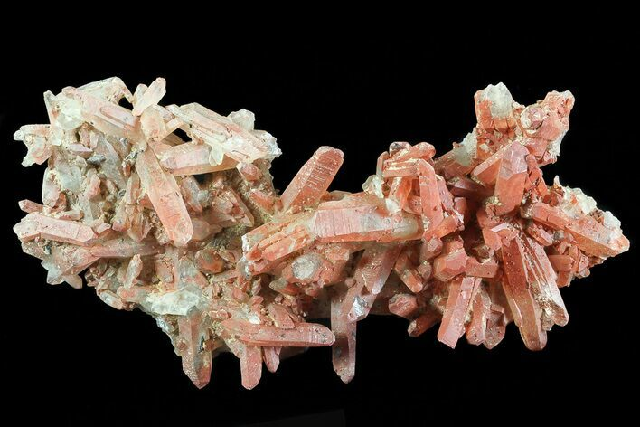 "5.4"" Natural Red Quartz Crystals - Morocco"