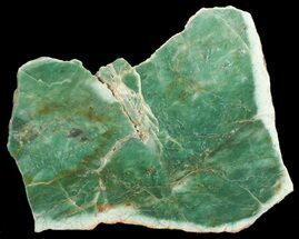 "7.5"" Polished Fuchsite Chert (Dragon Stone) Slab - Australia For Sale, #70859"