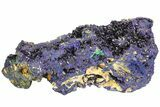 "8.3"" Amazing Azurite Cluster From Laos - Check Out Video! - #50779-1"