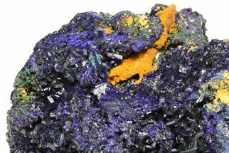 "Buy 8.3"" Amazing Azurite Cluster From Laos - Check Out Video! - #50779"