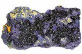"8.3"" Amazing Azurite Cluster From Laos - Check Out Video! - #50779-6"