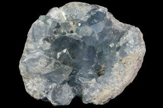 "5.8"" Blue Celestite Crystal Geode - Large Crystals For Sale, #70829"