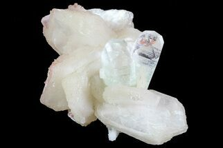 "Buy 2"" Zoned Apophyllite Crystals With Stilbite - India - #72076"