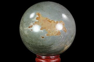 "2.6"" Polished Polychrome Jasper Sphere - Madagascar For Sale, #70784"