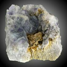 "2.2"" Fluorite and Quartz, Fujian Province, China For Sale, #31556"