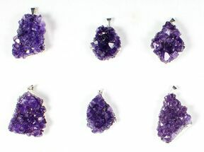 Quartz var. Amethyst - Fossils For Sale - #77871