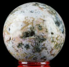 "2.1"" Unique Ocean Jasper Sphere - Madagascar For Sale, #78677"