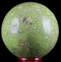 "Buy 2.6"" Polished Green Opal Sphere - Madagascar - #78763"