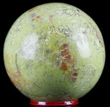 "Buy 2.3"" Polished Green Opal Sphere - Madagascar - #78766"
