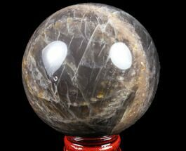 "Buy Polished 2.6"" Black Moonstone Sphere - Madagascar - #78946"