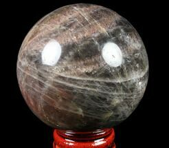 "Buy Polished 2.3"" Black Moonstone Sphere - Madagascar - #78952"