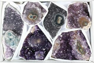 Buy Wholesale Flat: 3 Pounds Uruguay Amethyst - 6 Pieces - #78265