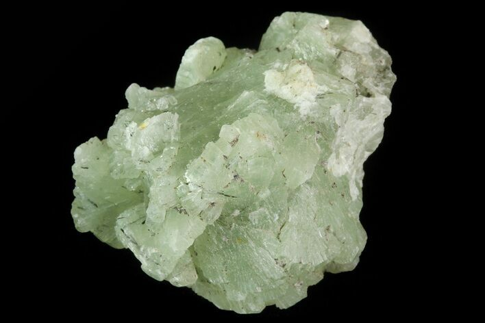 ".9"" Green Prehnite Crystal Cluster - Morocco"