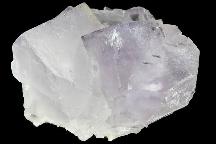"2"" Lustrous Purple Cubic Fluorite Crystals - Morocco"