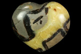 "2.9"" Polished Septarian Heart For Sale, #82010"