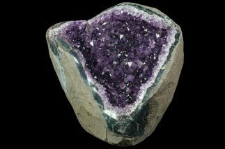 "6.1"" Purple Amethyst Geode - Uruguay For Sale, #83543"
