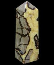 "Buy 7.7"" Polished Septarian Obelisk - Madagascar - #83305"
