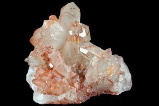 Quartz with Iron Oxide - Fossils For Sale - #84351