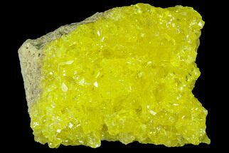"2.9"" Sulfur Crystals on Matrix - Bolivia For Sale, #84515"