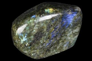 "5.2"" Wide, Flashy Polished Free Form Labradorite For Sale, #85274"