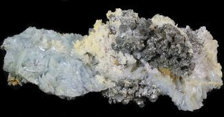 Barite, Quartz & Pyrite - Fossils For Sale - #42222
