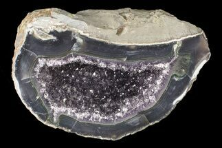 Quartz var. Amethyst - Fossils For Sale - #87414
