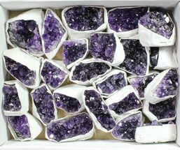Quartz var. Amethyst - Fossils For Sale - #90135