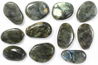 Buy Wholesale Box: Polished Labradorite Pebbles - 1 kg (2.2 lbs) - #90379
