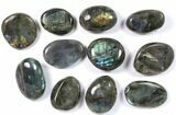 Wholesale Box: Polished Labradorite Pebbles - 5 kg (11 lbs) - #90655-1