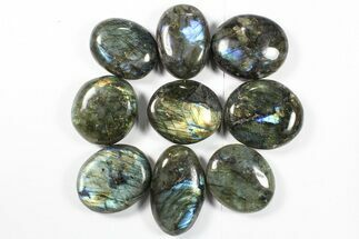 Buy Wholesale Box: Polished Labradorite Pebbles - 1 kg (2.2 lbs) - #90478