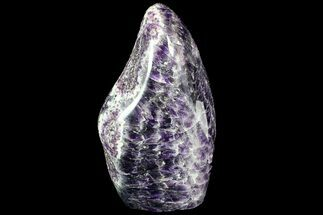 "7.2"" Tall Polished, Chevron Amethyst Freeform - Morocco For Sale, #92843"