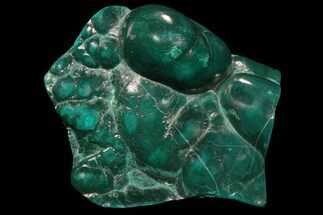 "3"" Polished Botryoidal Chrysocolla and Malachite - Congo For Sale, #94178"
