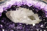 "9.6"" Amethyst ""Jewelry Box"" Geode On Stand - Gorgeous - #94323-1"