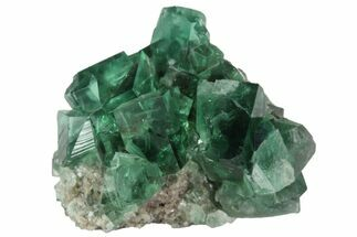"1.38"" Fluorite Crystal Cluster -  Rogerley Mine For Sale, #94526"