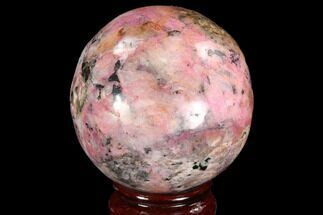"Bargain, 2.85"" Polished Cobaltoan Calcite Sphere - Congo For Sale, #95021"