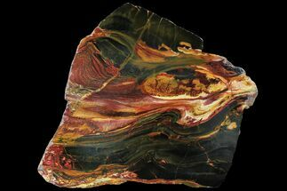"9.3"" Marra Mamba Tigers Eye - Mt. Brockman (2.7 Billion Years) For Sale, #95459"