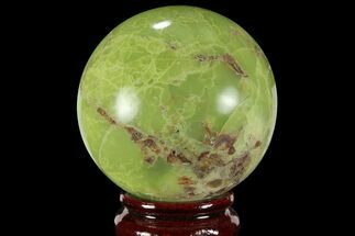 "Buy 3.1"" Polished Green Opal Sphere - Madagascar - #95863"