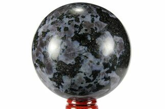 "Buy 2.95"" Polished, Indigo Gabbro Sphere - Madagascar - #96004"