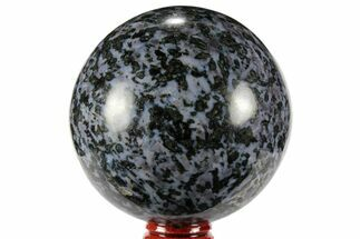 "3"" Polished, Indigo Gabbro Sphere - Madagascar For Sale, #96005"